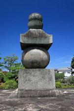 西大寺奥の院の五輪塔